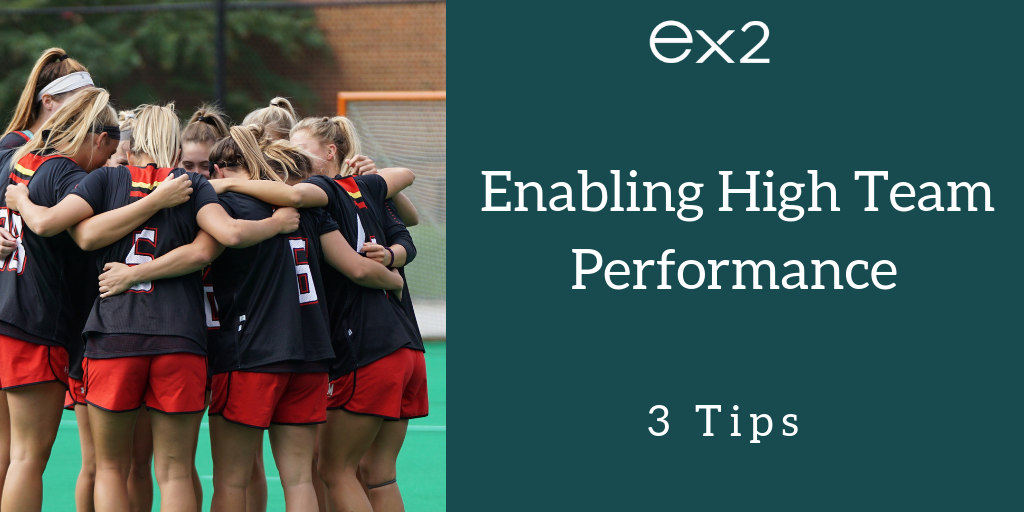 Enabling High Team Performance