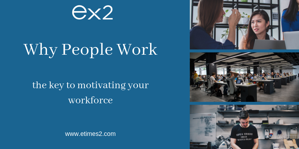 Why People Work: the key to motivating your workforce