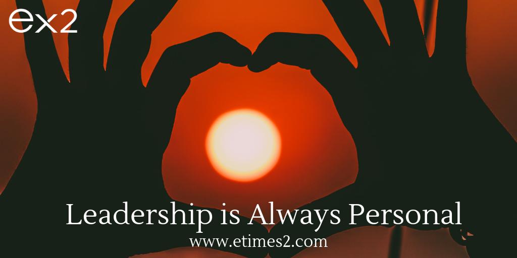 leadership is personal