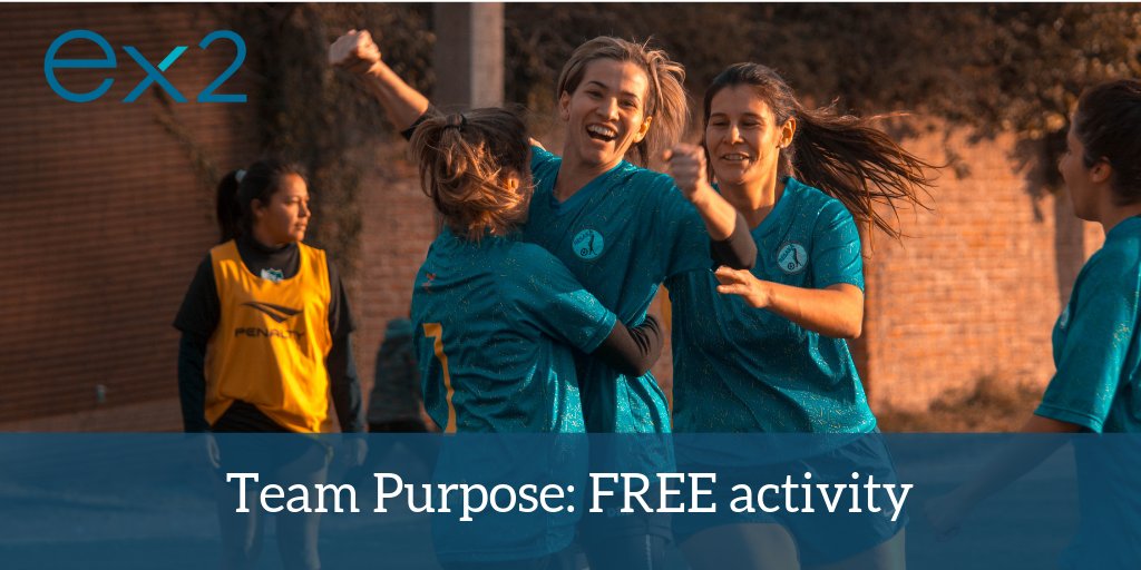 Team Purpose: Free Activity for Managers